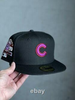 Hat Club Exclusive New Era 59FIFTY Chicago Cubs Moon Rock 1990 Patch 7 1/4