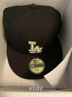 Hat Club Exclusive New Era 59fifty LA Dodgers Stadium 50th Aniver Patch 7 3/8