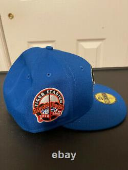 Hat Club Exclusive New Era Cereal Pack Detroit Tigers Stadium Patch Hat 7 5/8