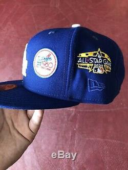 Hat Club Exclusive New Era Dodgers All Star Game History Patch 7 1/2 local icon