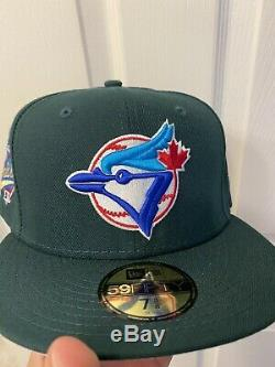 Hat Club Exclusive New Era Toronto Blue Jays 1993 World Series Fitted Pink UV