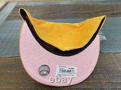 Hat Club Exclusive Pink Lemonade Boston Red Sox New Era Fitted Hat 7 5/8 pink UV