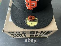 Hat Club Exclusive San Francisco Giants Tell it Goodbye Fitted Hat Size 7 3/8