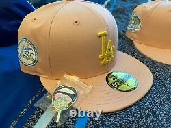 Hat Club Exclusive Sugar Shack Los Angeles Dodgers Apricot Fitted 7 1/4 3/8 1/2