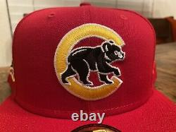 Hat Club Gum Pack Chicago Cubs 2016 World Series New Era fitted Hat 7 3/4