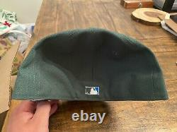 Hat Club Montreal Expos 35th Anniversary Green Peacock Neon Blue UV fitted 7 3/4