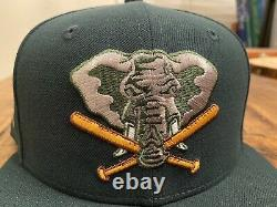 Hat Club Oakland Athletics Stomper 50th Anniversary New Era Fitted Hat 7 3/4