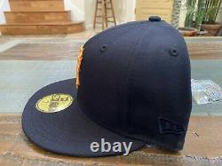 Hat Club San Francisco Giants 60th Anniversary Crossover New Era Fitted 7 3/4