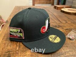 Hat Club Watermelon Montreal Expos Olympic Stadium New Era Fitted Hat 7 3/4