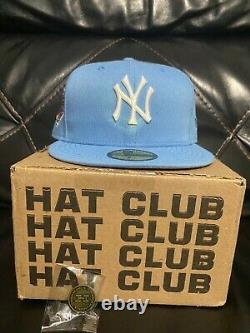 Hatclub Exclusive New York Yankees Marcy Blue size 7 1/2