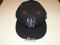 Hero Stargazer New Era Cap Hat Fitted 7 3/4 Darth Vader 59Fifty Logo All Over