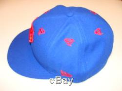 Hero Stargazer New Era Cap Hat Fitted 7 3/8 Superman 59Fifty Logo All Over Blue