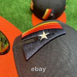 Houston Astros Prototype Logo Hat New Era Fitted 5950 MLB Club 50th Anniversary