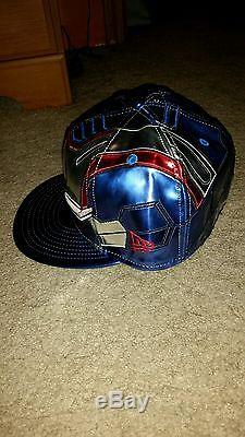 Iron Patriot New Era Fitted Hat. Sz 7 1/8