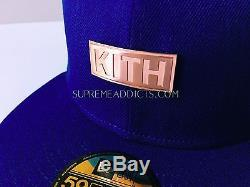 Kith Mets New Era Cap 7 1/2 Rose Gold 30th Anniversary Hat 59fifty Yankees Ds