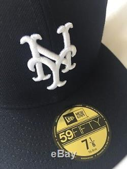Kith X NY Mets New Era 59fifty Fitted Cap 7 1/8 Ronnie Feig YZY Nike Yankees