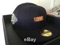 Kith x New Era x New York Yankees 59FIFTY 20th Anniversary Rose Gold 7 5/8