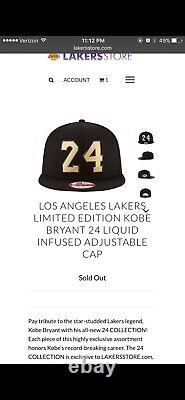 Kobe Bryant 824 Retirement Collection Hat. Only 824 made. Mamba Mentality