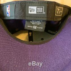 Kobe Bryant Autographs #6 Lakers Cap Rare New Era Limited Hat Signed At Staples