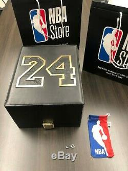 Kobe Bryant Black Leather Cap With 18k Gold by New Era (1 of 8 in Existence)