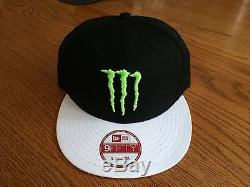 LAST ONE. Monster Energy New Era 9fifty Hat Rare Athlete Only SnapBack Red Bull