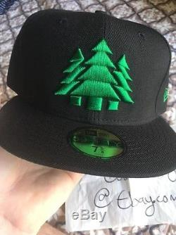 LOVES BLOWIN SMOKE New Era Cap 7 5/8 BRAND NEW LBS Odd Future Hat Fitted