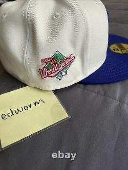 Los Angeles Dodgers 1988 WS HATCLUB Peace Collective x New Era Fitted 7 1/4