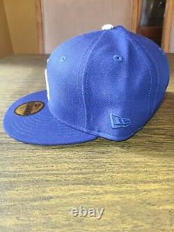 Los Angeles Dodgers Pink Bottom New Era 59fifty Fitted 7 3/8 Hat World Series