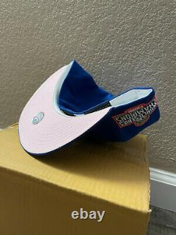 Los Angeles LA Dodgers New Era Exclusive Fitted Blue Pink UV 7 3/8 SHIP NOW