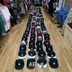 Lot of 120 Fitted Yankees Hats New Era