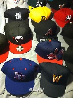 Lot of 34 New ERA 59Fifty Hats New Various Teams and Sizes Free Shipping
