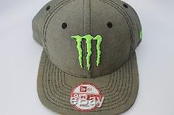 MONSTER ENERGY NEW ERA ATHLETE ONLY SNAPBACK SNAP BACK 100% AUTHENTIC NEW