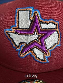 MYFITTEDS HOUSTON ASTROS ST. ARNOLD ROOT BEER INSPIRED 7 5/8 Not Hat Club GRAIL