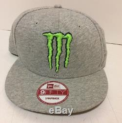 Monster Energy New Era Athlete Only Hat Brand Extremely Rare. VGUC