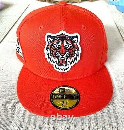 MyFitteds Exclusive DETROIT TIGERS Glow in the Dark New Era Hat Club 7 5/8 RARE
