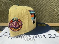 Myfitteds DENVER NUGGETS WESTERN CONFERENCE PATAGONIA sz 7 3/8 WOTHERSPOON HC