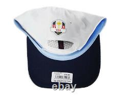 NEW 2020 New Era 9Forty USA Ryder Cup Practice Round White Adjustable Hat/Cap