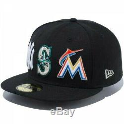 NEW ERA 59FIFTY Exclusive Collection Fitted Cap MLB ICHIRO Black Japan Tracking