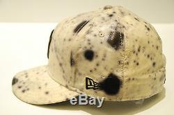 NEW ERA 59FIFTY LIMITED EDITION SPOT EFFECT LEATHER HAT SZ 7 5/8 (60.6CM)