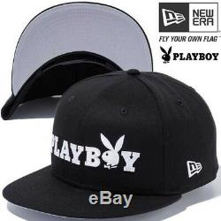 NEW ERA 9FIFTY Snapback Cap PLAY BOY Logo One Size BLK From Japan with Tracking
