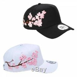NEW ERA 9FORTY A-Frame Snapback Cap Sakura Cherry Blossoms Japan with Tracking