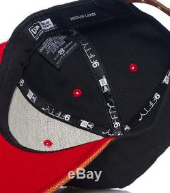 NEW ERA CHICAGO BULLS NBA STRAPBACK CAP