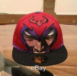 NEW ERA MAGNETO X-Men Head Shield 59Fifty Fitted Cap EXTREME RARE