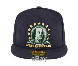 NEW ERA-STAY HUSTLIN men woman unisex authentic snapback cap Special Edition