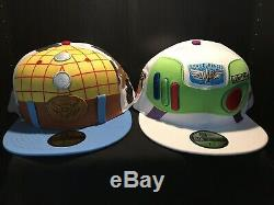 NEW ERA Toy Story 4 Woody And Buzz Character Hats 7 1/2