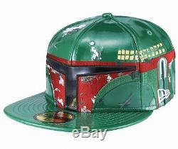 NEW ERA x STAR WARS 59FIFTY FITTED CAP BOBA FETT Rare Limited New hat