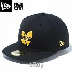 NEW ERA x WU-TANG CLAN Logo Black Fitted Cap LIVE NATION 59 FIFTY Free shipping