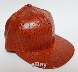 New Era 59FIFTY Jeremy Scott OSTRICH Hat ($75) Cap Fitted 5950 Patent Leather