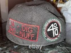 New Era 59FIFTY SPIKE LEE 40 ACRES & A MULE Spike's Joint Fitted Hat SZ 7 3/8