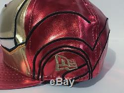 New Era 59Fifty Limited Edition Iron Man Avengers Fitted Hat (2008)